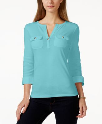 Image of Charter Club Henley Utility Top, Only at Macy's