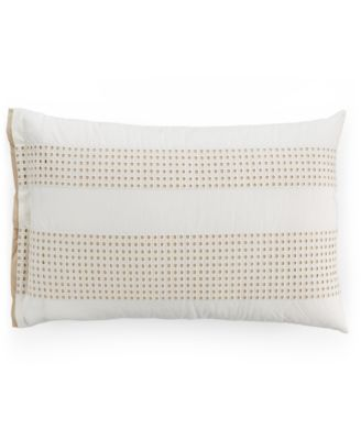 Hotel Collection Modern Eyelet Pair of Standard Shams, Only at Macy's