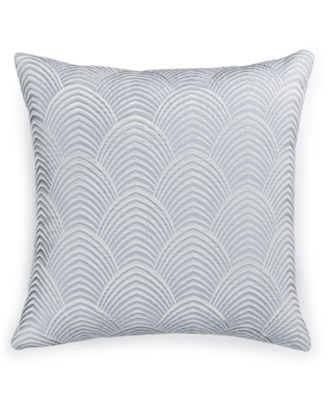 "Hotel Collection Finest Pendant Embroidered 16"" Square Decorative Pillow, Only at Macy's"