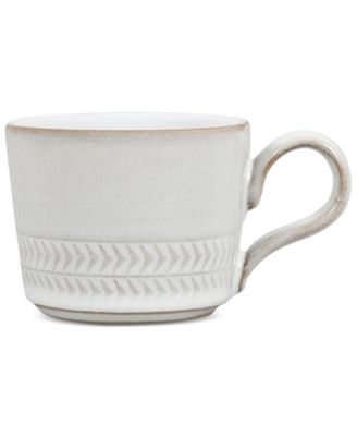 Denby Natural Canvas Stoneware Textured Large Espresso Cup