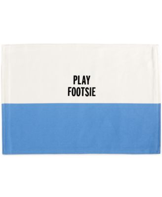 kate spade new york Food For Thought Collection Play Footsie Placemat
