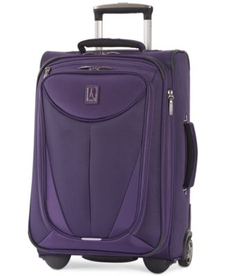 "Travelpro Walkabout 3 22"" Expandable Carry On Rolling Suitcase, Only at Macy's"