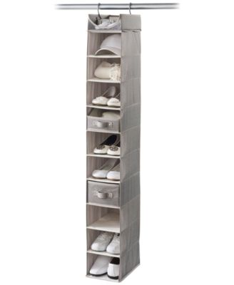 Neatfreak Harmony Twill 10-Shelf Closet/Shoe Organizer