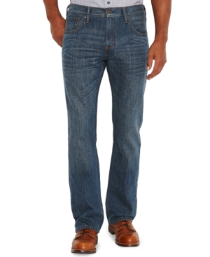 Levi's Men's 527 Slim Bootcut Fit Indie Blue Wash Jeans