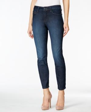 Nydj Petite Skinny Burbank Wash Ankle Jeans