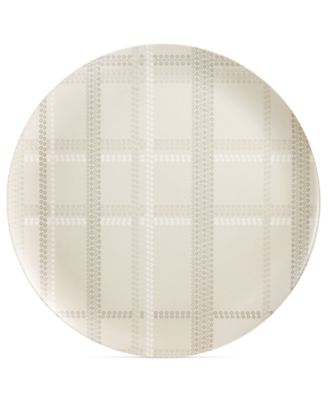 CLOSEOUT! Home Design Studio Oversized Plaid Statement Tray, Only at Macy's