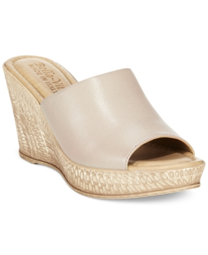 Bella Vita Mileto Wedge Mules Women's Shoes