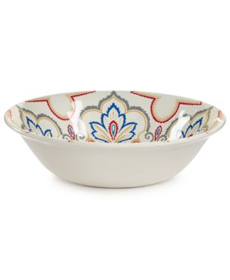 Home Design Studio La Villa Melamine Dinnerware Collection Cereal Bowl, Only at Macy's