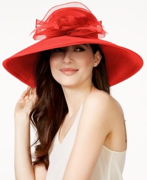 August Hats Dress Up Time Large Romantic Profile Dress Hat $39.99 AT vintagedancer.com