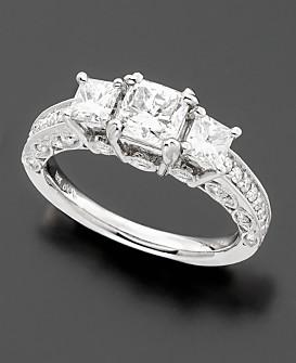 Princess Cut Diamond Rings Macy's