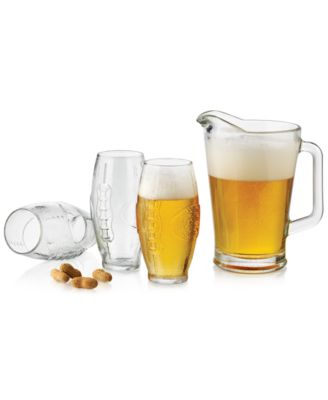 Libbey Football 7-Pc. Beverage Set