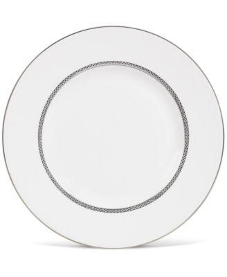 "Wedgwood ""Signet Platinum"" Accent Salad Plate, 9"""