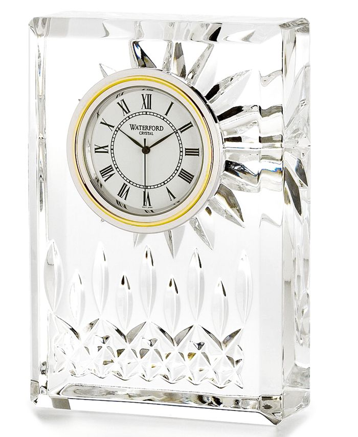 """Waterford - """"Lismore"""" Small Clock"""