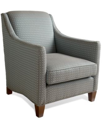 Aunt Jane Living Room Chair Furniture Macy S