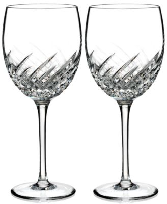 Waterford Essentially Wave Collection 2-Pc. Goblets
