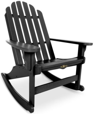 Essentials Adirondack Rocking Chair, Direct Ships for $9.95!