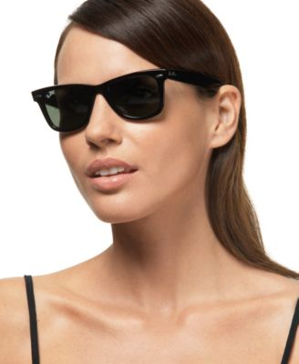 classic wayfarer sunglasses  Ray Ban Classic Wayfarer Sunglasses Square Face Shop by Face Shape ...