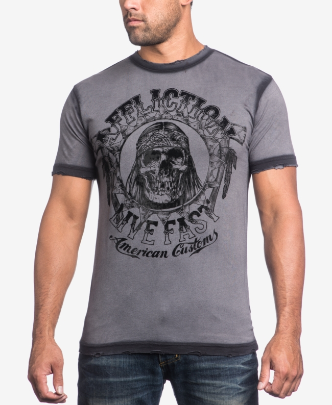 Affliction Men's Graphic Print T Shirt | Top and Clothing