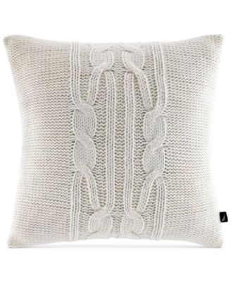 "Nautica Booker 16"" x 16"" Decorative Pillow"