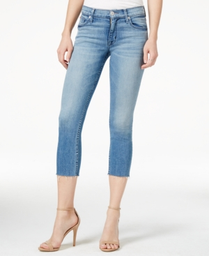 Hudson Jeans Fallon Cropped Altair Wash Skinny Jeans