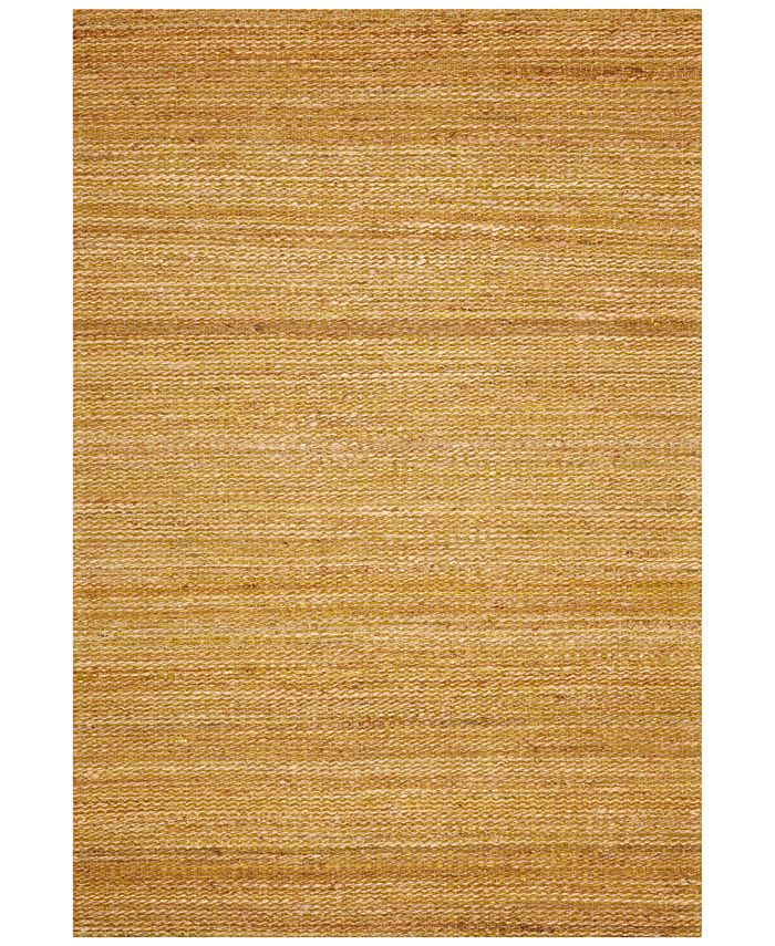 D Style - Natural Jute Avocado 9' x 13' Area Rug