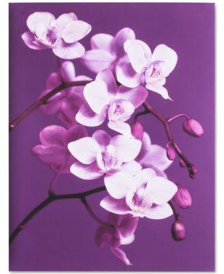 Graham & Brown Purple Orchid Canvas Print
