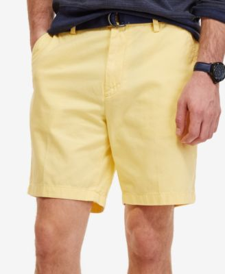 Image of Nautica Men's Flat Front Deck Shorts