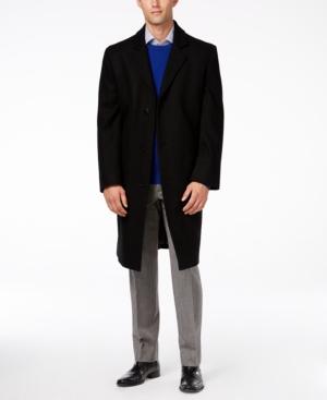 1960s Style Men's Clothing London Fog Signature Wool-Blend Overcoat $139.99 AT vintagedancer.com