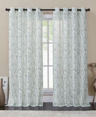 "Victoria Classics Branches 54"" X 84"" Sheer Panel"