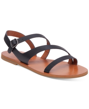 Lucky Brand Alexcia Flat Asymmetrical Sandals Women's Shoes