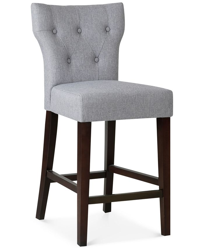 Furniture - Cohan Tufted Counter Stool, Direct Ship