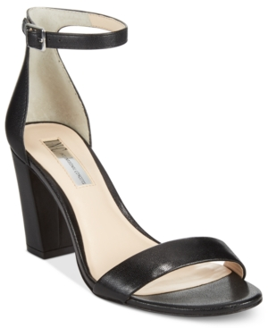 Inc International Concepts Kivah Block Heel Dress Sandals, Only at Macy's Women's Shoes