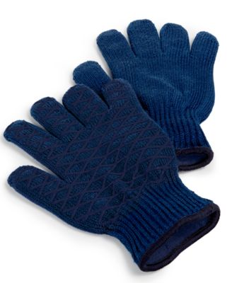Martha Stewart Collection Set of 2 Heat-Resistant Grilling Gloves, Only at Macy's