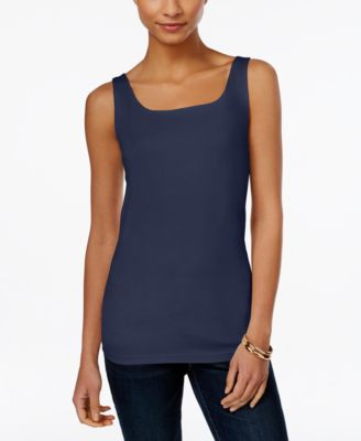 Image of Style & Co. Shelf-Bra Tank Top, Only at Macy's