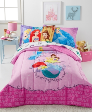 Disney's Princess Friendship Adventures 6-Pc. Comforter Set