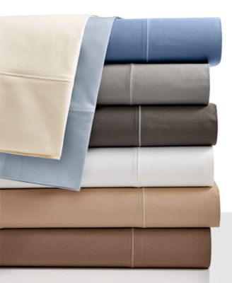Hotel Collection 525 Thread Count 100% Egyptian Cotton Pair of King Pillowcases