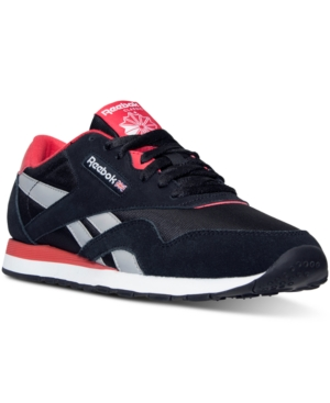 Reebok Men's Classic Nylon Ts Casual Sneakers from Finish Line