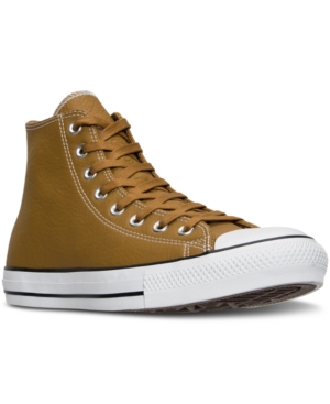 Converse Men's Chuck Taylor All Star Hi Seasonal Leather Casual Sneakers from Finish Line
