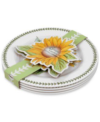 Portmeirion 4-Pc. Botanic Garden Dinner Plates
