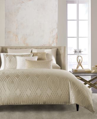 Hotel Collection Dimensions Champagne King Comforter, Only at Macy's