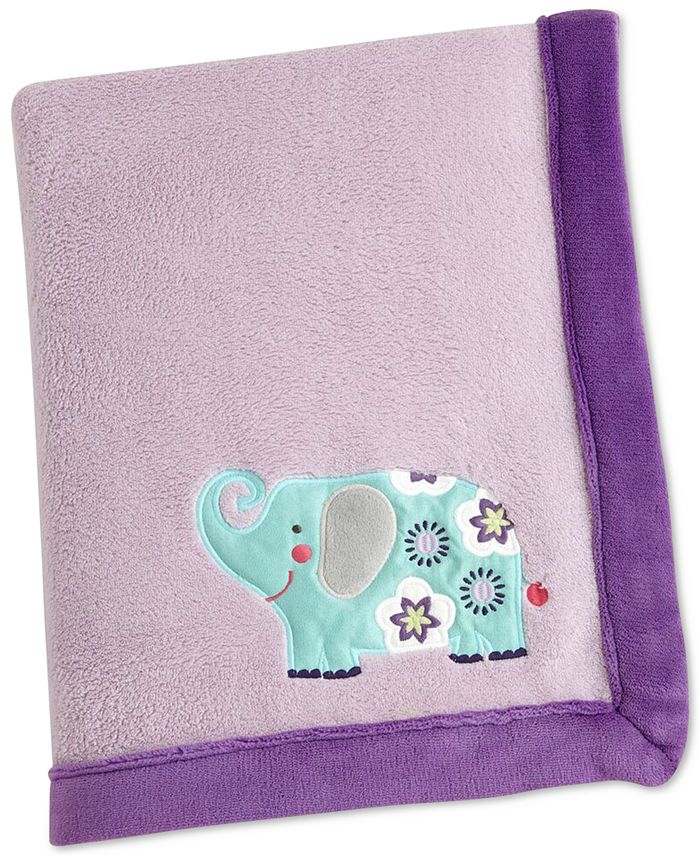 Carter's - Zoo Collection Appliqué Fleece Blanket