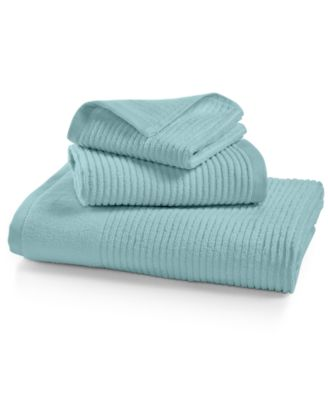Martha Stewart Collection Quick Dry Reversible Hand Towel, Only at Macy's