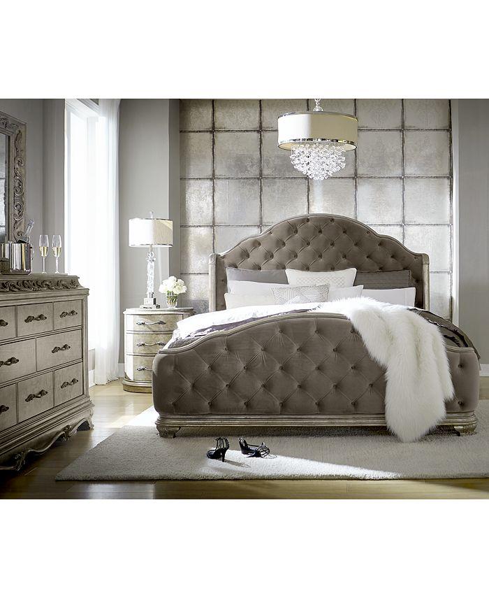 Furniture - Anastasia Bedroom , 3-Pc. Set (Queen Bed, Dresser & Nightstand)