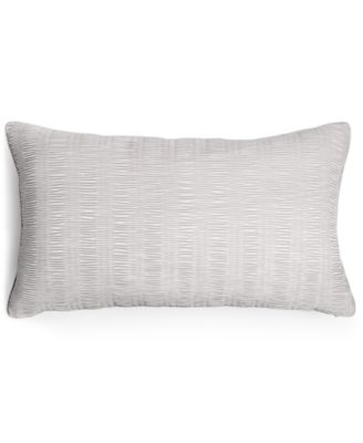 "Hotel Collection Keystone 14"" x 24"" Decorative Pillow, Only at Macy's"