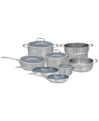 Zwilling J.A. Henckels Spirit Ceramic Nonstick 12-Pc. Cookware Set
