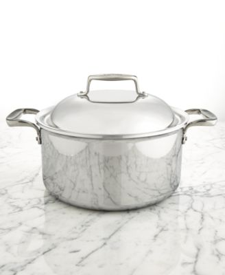 All-Clad d7 Stainless Steel 8-Qt. Round Oven with Domed Lid