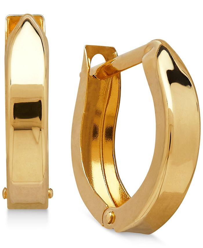 Macy's - Children's Hinged Cuff Hoop Earrings in 14k Gold
