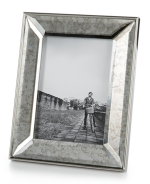 "Home Design Studio Vintaged Mirrored 5"" x 7"" Picture Frame,  Only at Macy's plus size,  plus size fashion plus size appare"