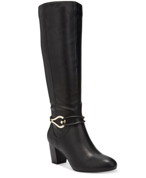 Karen Scott Gaffar Dress Boots, Only at Macy's Women's Shoes