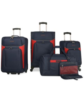 Nautica Oceanview 5 Piece Luggage Set, Only at Macy's